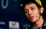 Movistar Yamaha MotoGP host 2015 team launch in Madrid. In the pic:  Valentino Rossi. January 28, 2015. (ALTERPHOTOS/Caro Marin)