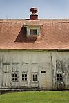 Pine Knoll Farm barns.
