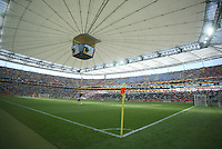 Frankfurt Stadium . Korea Republic defeated Togo 2-1 in their FIFA World Cup Group G match at the FIFA World Cup Stadium, Frankfurt, Germany, June 13, 2006.