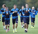 Lee Wallace back in training