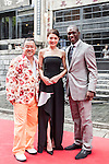 Celebrities and VIP's on the red carpet during the opening of the Mission Hills Celebrity Pro-Am on 24 October 2014, in Haikou, China. Photo by Xaume Olleros / Power Sport Images