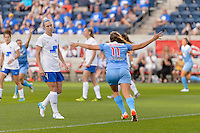 Bridgeview, IL - Saturday June 18, 2016: Sofia Huerta during a regular season National Women's Soccer League (NWSL) match between the Chicago Red Stars and the Boston Breakers at Toyota Park.