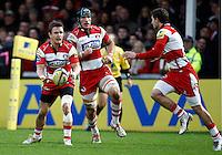 Photo: Richard Lane/Richard Lane Photography. Gloucester Rugby v London Wasps. Aviva Premiership. 26/12/2011. Gloucester's Rory Lawson.