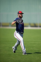 Minnesota Twins pitcher Aaron Thompson (64) during a Spring Training practice on March 1, 2016 at Hammond Stadium in Fort Myers, Florida.  (Mike Janes/Four Seam Images)