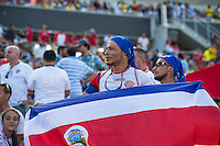 Orlando, Florida - Saturday, June 04, 2016: Fans during a Group A Copa America Centenario match between Costa Rica and Paraguay at Camping World Stadium.