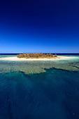 Ilot Pümbo, lagon Sud, Nouvelle-Calédonie. Zone classée au Patrimoine Mondial de l'Humanité (UNESCO)