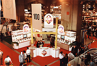 1998 File Photo - Montreal (qc) CANADA - NFL Booth,Canadian Sporting Good Association trade show at Place Bonaventure