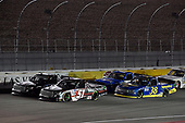 #51: Kyle Busch, Kyle Busch Motorsports, Toyota Tundra Cessna and #38: Todd Gilliland, Front Row Motorsports, Ford F-150 Black's Tire