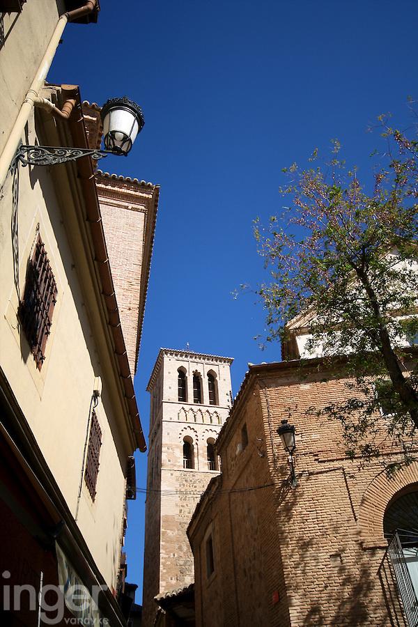 Streetscape in Toledo, Spain