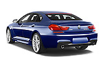 Car pictures of rear three quarter view of a 2015 BMW 6 Series M Sport 2 Door Coupe angular rear