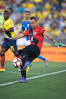 action photo during the match Brasil vs Ecuador, at Rose Bowl Stadium Copa America Centenario 2016. ---Foto  de accion durante el partido Brasil vs Ecuador, En el Estadio Rose Bowl, Partido Correspondiante al Grupo -B-  de la Copa America Centenario USA 2016, en la foto: Esteban Dreer<br /> --- 04/06/2016/MEXSPORT/ David Leah.