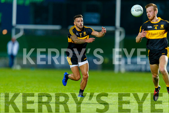 Micheál Burns, Dr. Crokes during the Kerry County Senior Football Championship Semi-Final match between Mid Kerry and Dr Crokes at Austin Stack Park in Tralee, Kerry.