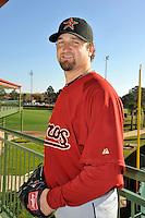 Feb 25, 2010; Kissimmee, FL, USA; The Houston Astros pitcher Brandon Lyon (37) during photoday at Osceola County Stadium. Mandatory Credit: Tomasso De Rosa / Four Seam Images