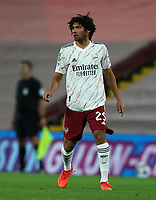 1st October 2020; Anfield, Liverpool, Merseyside, England; English Football League Cup, Carabao Cup, Liverpool versus Arsenal; Mohammed Elneny of Arsenal
