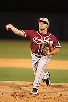 """Florida State Seminoles Todd Standish #26 during a game vs. the Florida Gators in the """"Florida Four"""" at George M. Steinbrenner Field in Tampa, Florida;  March 1, 2011.  Florida State defeated Florida 5-3.  Photo By Mike Janes/Four Seam Images"""