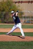 Trey Wingenter - San Diego Padres 2016 spring training (Bill Mitchell)