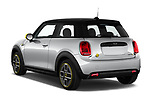 Car pictures of rear three quarter view of 2020 MINI MINI-Electric Cooper-SE-L 2 Door Hatchback Angular Rear