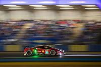 #52 AF Corse Ferrari 488 GTE EVO LMGTE Pro, Daniel Serra, Miguel Molina, Sam Bird, 24 Hours of Le Mans , Free Practice 2, Circuit des 24 Heures, Le Mans, Pays da Loire, France