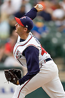 Johnson, Jeremy 0235.jpg. Memphis Redbirds at Round Rock Express in Pacific Coast League Baseball. Dell Diamond on April 26th 2009 in Round Rock, Texas. Photo by Andrew Woolley.