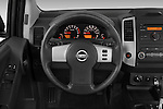 Steering wheel view of a 2009 Nissan Xterra Off Road