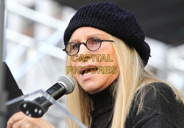 ALos Angeles CA - JANUARY 21: Barbra Streisand, At Women's March Los Angeles, At Downtown Los Angeles In California on January 21, 2017. <br /> CAP/MPI/FS<br /> ©FS/MPI/Capital Pictures