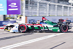 Daniel Abt of Germany from Audi Sport ABT Schaeffler competes in the Formula E Non-Qualifying Practice 2 during the FIA Formula E Hong Kong E-Prix Round 1  at the Central Harbourfront Circuit on 02 December 2017 in Hong Kong, Hong Kong. Photo by Marcio Rodrigo Machado / Power Sport Images