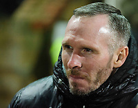 Lincoln City manager Michael Appleton during the pre-match warm-up<br /> <br /> Photographer Andrew Vaughan/CameraSport<br /> <br /> The EFL Sky Bet League One - Lincoln City v Milton Keynes Dons - Tuesday 11th February 2020 - LNER Stadium - Lincoln<br /> <br /> World Copyright © 2020 CameraSport. All rights reserved. 43 Linden Ave. Countesthorpe. Leicester. England. LE8 5PG - Tel: +44 (0) 116 277 4147 - admin@camerasport.com - www.camerasport.com