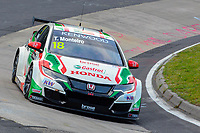 Race of Germany Nürburgring Nordschleife 2016 Free Training 1 WTCC 2016 #18 TC1 Honda Racing Team JAS. Honda Civic WTCC Tiago Monteiro (PRT) © 2016 Musson/PSP. All Rights Reserved.