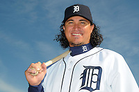 Feb 21, 2009; Lakeland, FL, USA; The Detroit Tigers outfielder Magglio Ordonez (30) during photoday at Tigertown. Mandatory Credit: Tomasso De Rosa/ Four Seam Images