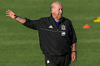 Spain's Vicente del Bosque during the first training of the concentration of national soccer team before the Uefa Euro 2016.  Jun 4,2016. (ALTERPHOTOS/Rodrigo Jimenez/Insidefoto)