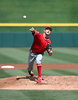 Griffin Canning - Los Angeles Angels 2019 spring training (Bill Mitchell)