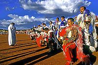 Festa da Cavalhada em Pirenópolis, Goiás. 1992. Foto de Juca Martins.