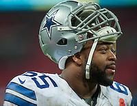 09.11.2014.  London, England.  NFL International Series. Jacksonville Jaguars versus Dallas Cowboys. Dallas Cowboys' Offensive Linesman Ronald Leary (#65)