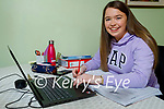 Aoife Hickey from Tralee, a Presentation Secondary School Tralee student studying for her leaving cert.