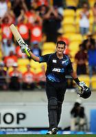 140131 One Day International Cricket - New Zealand Black Caps v India