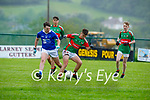 Action from Kilcummin v Laune Rangers in the opening round of the County MFL on Monday evening.
