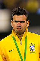 Leandro Castan (6) of Brazil. Brazil (BRA) and Colombia (COL) played to a 1-1 tie during international friendly at MetLife Stadium in East Rutherford, NJ, on November 14, 2012.