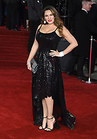"Kelly Brook<br /> at the ""Murder on the Orient Express"" premiere held at the Royal Albert Hall, London<br /> <br /> <br /> ©Ash Knotek  D3344  03/11/2017"