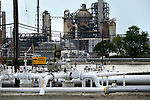 Pipelines and production facilities at the Point Breeze plant of Philadelphia Energy Solutions refinery in South Philadelphia, PA, on August 8, 2019, ahead of its imminent permanent closure by the end of the month.