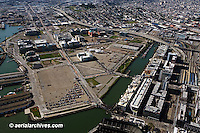 aerial photograph Mission Bay, San Francisco, California