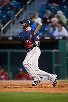 Pawtucket Red Sox right fielder Bryce Brentz (25) at bat during a game against the Buffalo Bisons on August 31, 2017 at Coca-Cola Field in Buffalo, New York.  Buffalo defeated Pawtucket 4-2.  (Mike Janes/Four Seam Images)