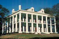 Dunleith Mansion antebellum home in Natchez, Mississippi. Natchez Mississippi United States.