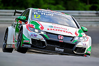 Race of Germany Nürburgring Nordschleife 2016 Free Training 1 WTCC 2016 #12 TC1 Honda Racing Team JAS. Honda Civic WTCC Rob Huff (GBR) © 2016 Musson/PSP. All Rights Reserved.