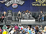 The LC Rocks band in action before the Nascar Sprint Cup Series AAA Texas 500 race at Texas Motor Speedway in Fort Worth,Texas. Sprint Cup Series driver Tony Stewart (14) wins the AAA Texas 500 race