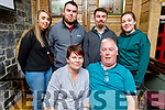 Ann Moynihan from Rockwell Close celebrating her birthday in the Brogue Inn on Sunday.<br /> Seated l to r: Ann and Pat Moynihan.<br /> Back l to r: Shauna Moriarty, Anthony, Ian and Jessica Moynihan.