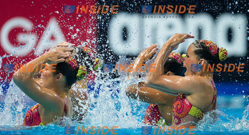 BRA - Brazil<br /> BRUNO Maria COUTINHO Maria<br /> FERES Beatriz FERES Branca<br /> LOWY Sabrine MOLINOS Lorena<br /> NOGUEIRA Pamela TEIXEIRA Lara<br /> Team Free Final<br /> Day8 10/07/2015<br /> XVI FINA World Championships Aquatics<br /> Synchro<br /> Kazan Tatarstan RUS July 24 - Aug. 9 2015 <br /> Photo Pasquale Mesiano/Deepbluemedia/Insidefoto