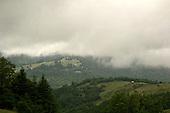 Clouded Cascade Mountains