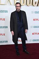 "James Purefoy<br /> arriving for the ""Sex Education"" season 2 launch at Genesis Cinema Mile End Road, London.<br /> <br /> ©Ash Knotek  D3547 08/01/2020"