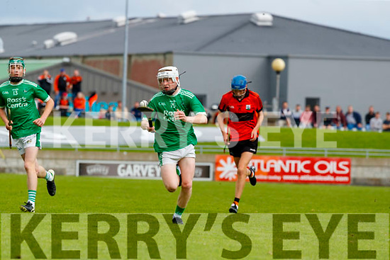 Aodhan Curley, Ballyduff, during the Kerry County Minor Hurling Championship Final match between Ballyduff and Ballyheigue at Austin Stack Park in Tralee, Kerry.