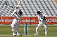 Paul Walter of Essex hits out during Warwickshire CCC vs Essex CCC, LV Insurance County Championship Group 1 Cricket at Edgbaston Stadium on 22nd April 2021